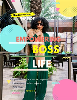 Empowering Boss Life | April 2019 | Issue 6