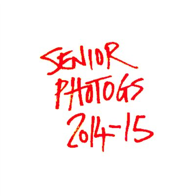 Senior Photogs 2014-15