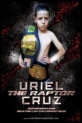 Uriel Cruz Raptor Poster