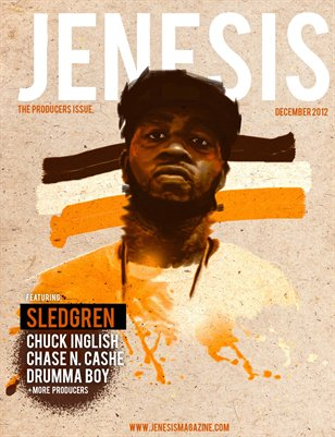 JENESIS December Producers Issue Feat Sledgren 2012