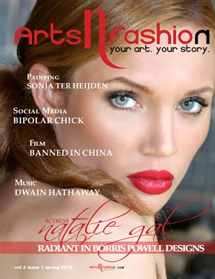 ArtsNFashion Magazine Summer Issue 2012
