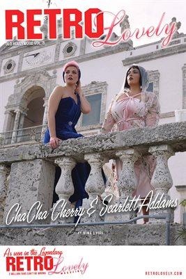 ChaCha Cherry & Scarlett Addams Cover Poster