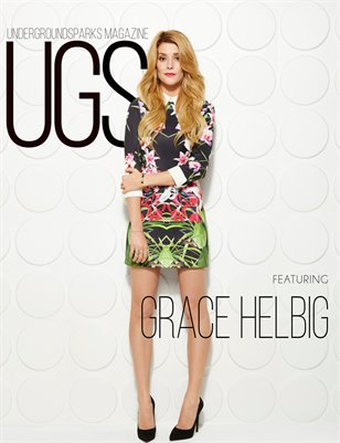 Underground Sparks April Issue - Grace Helbig