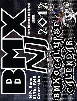 2012 BMXNJ BMXocalypse Calendar