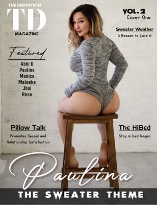 The Definition: Paulina-The Sweater/Coat/Hoodie Edition vol2 cover 1 Jan.2021