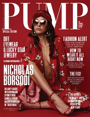 PUMP Magazine - The Monochromatic Fashion & Beauty Edition
