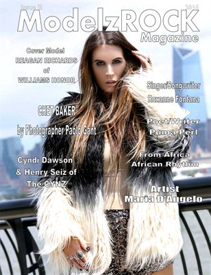 ModelzROCK Magazine 2016 Issue III COVER 1