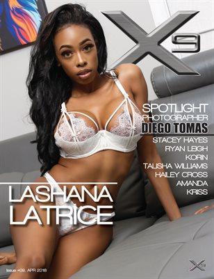 X9 Men's Magazine #09 (Lashana Latrice)