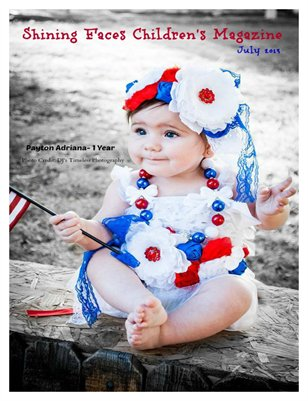 Payton Adriana Front Cover & Ella Grace back cover. July 2013