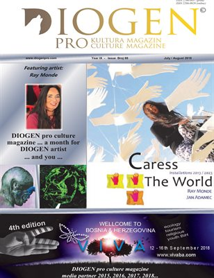 DIOGEN pro culture magazine No 88, July/August 2018