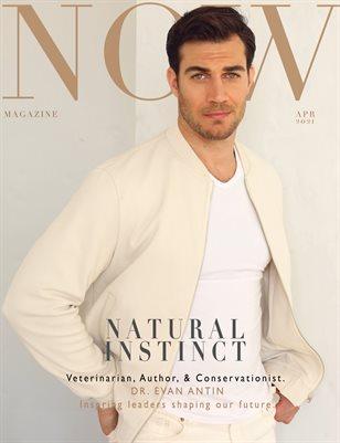 NOW Magazine April 2021 Evan Antin