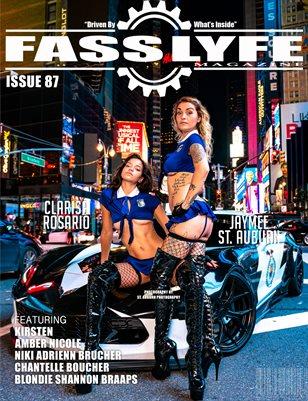 FASS LYFE ISSUE 87 FT. JAYMEE ST. AUBURN & CLARISA ROSARIO