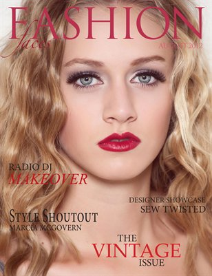 FASHION FACES August 2012