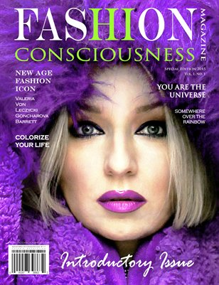 FASHION CONSCIOUSNESS Magazine - Special Edition/ Introductory Issue 2015