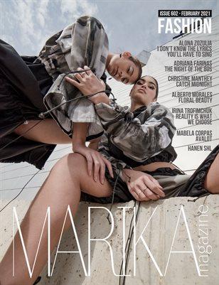 MARIKA MAGAZINE FASHION ( ISSUE 602 - February )