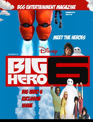 BGG Issue 43: Big Hero 6 Exclusive