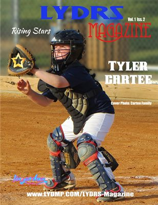 LYDRS MAGAZINE - Cover/Feature Tyler Cartee - July 2017