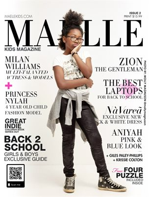 Maelle Kids Magazine Issue 2 Milan Williams