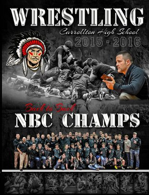 Carrollton High School NBC Champ Wrestling Team Book