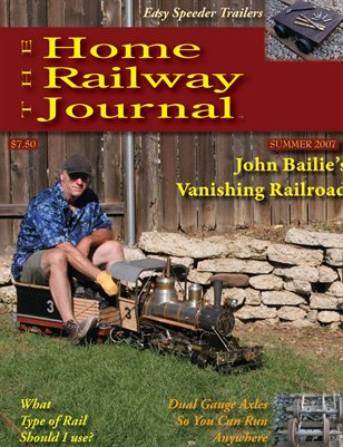 Home Railway Journal: SUMMER 2007