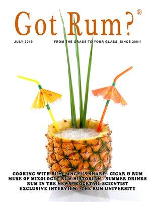 """""""Got Rum?"""" July 2019"""
