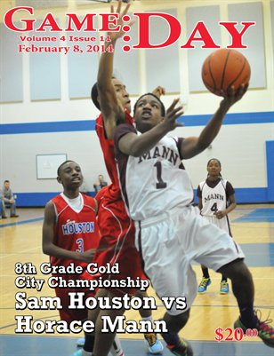 Volume 4 Issue 11 - Houston vs Mann 8th Gold Championship