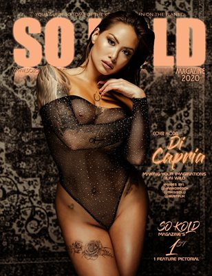 "SO KOLD MAGAZINE'S ""DI CAPRIA"" MAKING YOUR IMAGINATIONS RUN WILD"