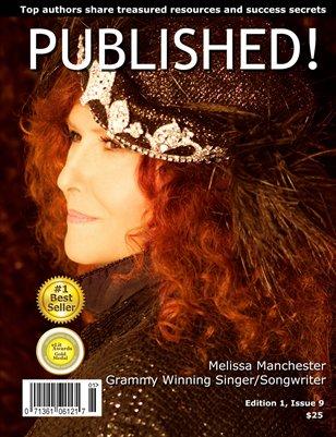 PUBLISHED! Magazine featuring Melissa Manchester