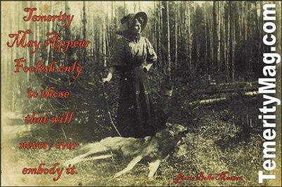Jesse Belle Menton Temerity Poster