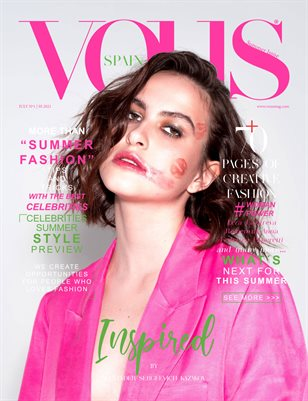 VOUS Magazine | The July Fashion & Beauty Edition | Vol.8 | 2021