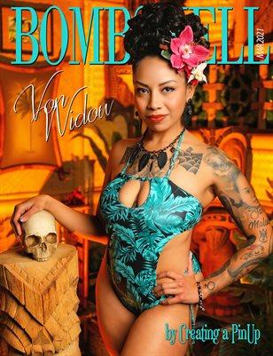 BOMBSHELL Magazine March 2021 - Von Widow Cover