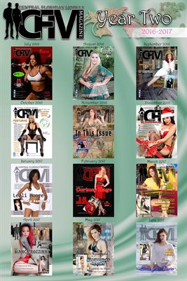 Poster CFM Magazine/USA Models Magazine Year Two