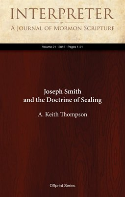 Joseph Smith and the Doctrine of Sealing
