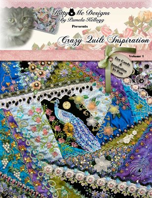 Crazy Quilt Inspiration by Pam