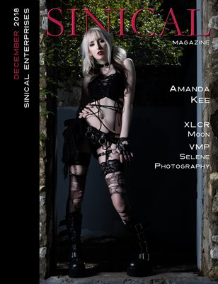Sinical Magazine December 2018 issue - Amanda Kee cover edition