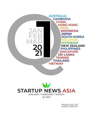 First quarter 2021: Startup News Asia