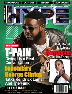 The Hype Magazine - Issue #93 T-Pain