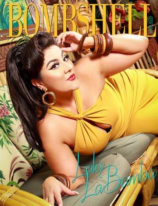 BOMBSHELL Magazine March 2020 BOOK 1 - Lola LaBamba Cover