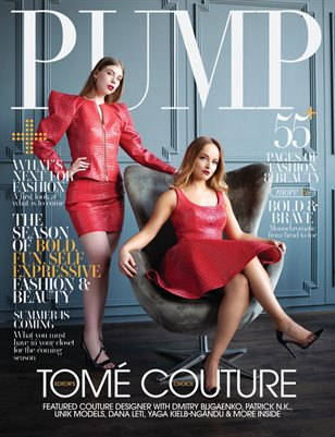 PUMP Magazine | The Spring Style Issue | Vol.4 | May 2021