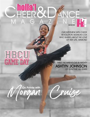 HOLLA'! Cheer and Dance Magazine - Winter 2018 Issue