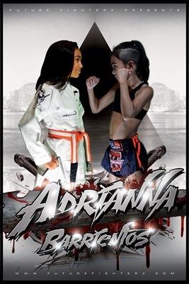 Adrianna Barrientos Face Off Poster