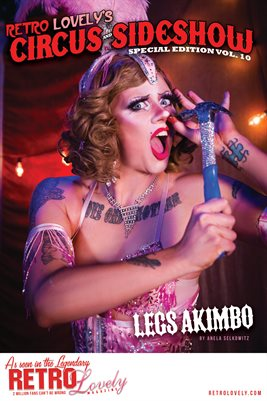 Circus & Sideshow 2021 Vol.10 – Legs Akimbo Cover Poster