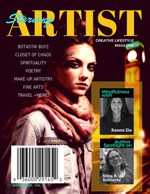 Starving Artist Magazine PLUS, w/Voyage Addictarium Newspaper, Winter 2018