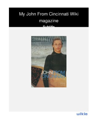 My John From Cincinnati Wiki magazine (3)