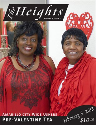 Volume 4 Issue 1 - City Wide Ushers Pre-Valentine Tea