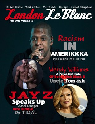 London Le'Blanc Magazine Vol. 19-Jay Z