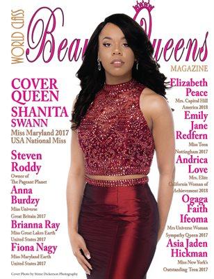 World Class Beauty Queens Magazine with Shanita Swann