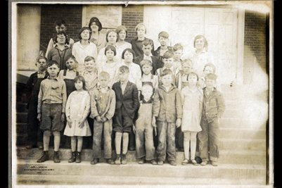 Davenport Estate School Photograph No.2, Mercer County, Kentucky