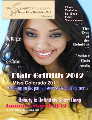 Beauty is Definitely Spirit Deep-Jan.-Mar. 2012 Winter Issue