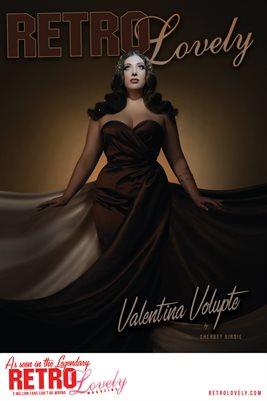 Valentina Volupte Cover Poster